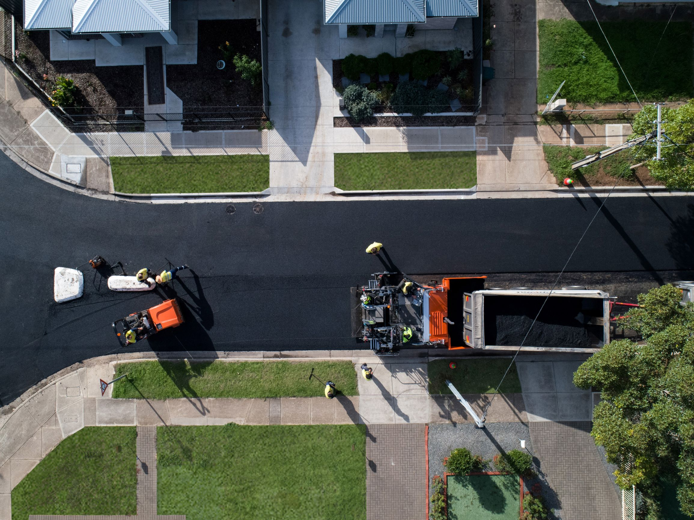 Asphalt Production on the street